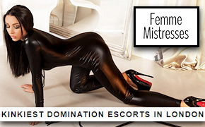 Kinky BDSM escort services in London